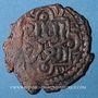 Monnaies Syrie. Ayyoubides d'Alep. an-Nasir Yusef II (634-658H). Fals