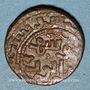 Monnaies Syrie. Ayyoubides. Salah al-Din Yusuf I (564-589H). Bronze, fals (5)75H (Hamah)