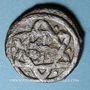 Monnaies Syrie. Mamelouks Bahrites. Abu Bakr (741-742H). Fals 742H, Damas