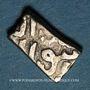 Monnaies Syrie. Mamelouks Burjites. Barquq (784-791H et 792-801H). Demi-dirham (Alep)