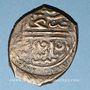 Monnaies Syrie. Mamelouks Burjites. Faraj (1er règne 801-808H). Fals 802H, Alep