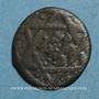 Monnaies Syrie. Mamlouks bahrites. Abu-Bakr (741-742H). Br. Fals (7)41H, Damas