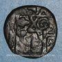 Monnaies Syrie. Mamlouks bahrites. Sha'ban II (764-778H).  Fals, Alep