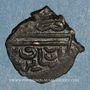 Monnaies Syrie. Mamlouks burjites. Faraj (801-808H). Fals bronze 802H, (Alep)