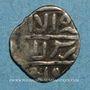 Monnaies Syrie. Mamlouks burjites. Jaqmaq (842-857H). Ar. 1/2 dirham (8)4xH, (Damas)