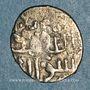 Monnaies Syrie. Mamlouks burjites.  Khushqadam (865-872H). Dirham argent non daté, (Alep)