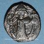 Monnaies Syrie. Monnayage arabo-byzantin. Umayyades. Epoque Mu'awiya (?) (41-60H). Fals bilingue sans atelier