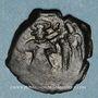 Monnaies Syrie. Monnayage pseudo-byzantin (638-c.670). Follis, atelier de Naplouse