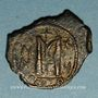 Monnaies Syrie. Monnayage pseudo-byzantin (638-c.670). Follis