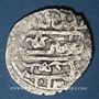 Monnaies Syrie. Ottomans. Ahmed I (1012-1026H). Dirham 1012H, Alep, surfrappé sur une ancienne monnaie