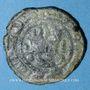 Monnaies Syrie. Umayyades (monnayage post-réforme en bronze). al-Walid I (86-96H). Fals (87 ou 88H), Damas