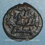 Monnaies Syrie. Umayyades, vers 80-90H. Fals anonyme, Hims