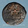 Monnaies Syrie. Zenguides. al-Salih Isma'il (569-577H). Bronze, fals  (57)4H, (Alep)