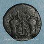 Monnaies Syrie. Zenguides. Nur al-Din Mahmud (541-569H). Br. Fals de style byzantin, (Alep)