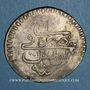 Monnaies Tunisie. Mustafa III (1171-1187H). Piastre 1186H. Tunis