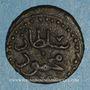 Monnaies Tunisie. Ottomans. Mahmoud I (1143-1168H). Hafsi (?), 1163H. Tunis