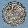 Monnaies Tunisie. Ottomans. Mahmoud I (1143-1168H). Kharub 1152H. Tunis
