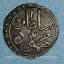 Monnaies Tunisie. Ottomans. Mahmoud II (1223-1255H). Kharub 1253H. Tunis