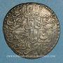 Monnaies Tunisie. Ottomans. Mahmud II (1223-1255H). 8 kharub (1/2 piastre)  1241H. Tunis