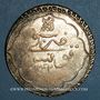 Monnaies Tunisie. Ottomans. Mahmud II (1223-1255H). Piastre 1242H. Tunis