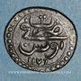 Monnaies Tunisie. Ottomans. Mustafa III (1171-1187H). Burbe 1176H. Tunis