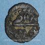 Monnaies Tunisie. Ottomans. Mustafa III (1171-1187H). Hafsi 118XH. Tunis