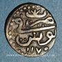 Monnaies Tunisie. Ottomans. Mustafa III (1171-1187H). Kharub 1175H. Tunis