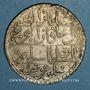 Monnaies Tunisie. Ottomans. Selim III (1203-1222H). Piastre  1221H. Tunis