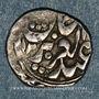 Monnaies Xin Kiang. Kashghar. Yakub Bey (1281-1294H).  1/2 mithqal 1294H, Kashghar.