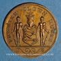Monnaies Anatoli Durow (1887-1927). Jeton bronze. 22,5 mm