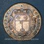 Monnaies Anjou. Ville d'Angers. Louis XIV. Jeton argent n. d.