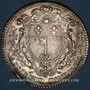 Monnaies Anjou. Ville d'Angers. Louis XV. Jeton argent