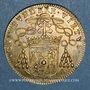 Monnaies Archevêché de Bourges. Jean IV de Montpezat de Carbon. Jeton cuivre jaune 1666