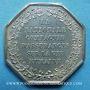 Monnaies Assurances. La Nationale. Assurance Vie. Jeton argent 1830. Poinçon : abeille