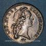 Monnaies Aunis. Chambre de Commerce de la Rochelle. Louis XV. Jeton argent
