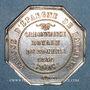 Monnaies Bayonne. Caisse d'Epargne. Jeton argent 1834