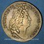 Monnaies Belgique. Louis XIV (1643-1715). Victoire de Saneffe sur Triple Alliance. Jeton laiton n. d.