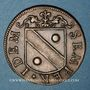 Monnaies Besançon. Co-gouverneurs. Bon Anathoile Monnier, seigneur de Noironte. Jeton cuivre 1667