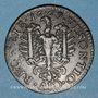 Monnaies Besançon. Co-gouverneurs. Claude Antoine II Franchet, seigneur de Cendrey. Jeton cuivre 1669