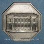 Monnaies Bordeaux. Caisse d'Epargne. Jeton argent 1819