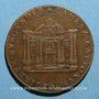 Monnaies Bourgogne. Chambre des Comptes. Jeton cuivre 1648