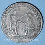 Monnaies Bourgogne. Mairie de Dijon. B.P. Baudinot. Jeton cuivre 1680