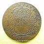 Monnaies Bourgogne. Mairie de Dijon. M. de Badier. Jeton cuivre 1685