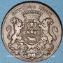 Monnaies Bourgogne. Mairie de Dijon. N. Cl. Rousselot. jeton cuivre 1766