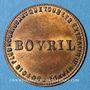 Monnaies Bovril. Jeton publicitaire