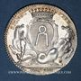 Monnaies Bretagne. Mairie de Nantes. Gelée de Premion. Jeton argent 1780-1781