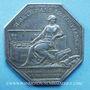 Monnaies Caisse d'Escompte. Jeton argent 1776