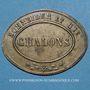 Monnaies Chalon-sur-Saône (71). Schneider et Cie. Jeton publicitaire