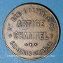 Monnaies Châlons-sur-Marne (51). Artige Champel (25 rue d'Orfeuil), parapluies,..., Jeton publicitaire