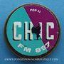 Monnaies Chic. FM 89.7. Publicité sur pièce de 10 francs